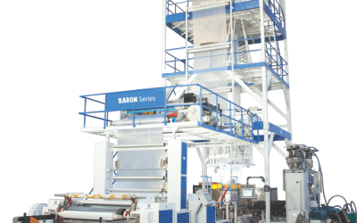 Five layer IBC co-extrusion blown film lines
