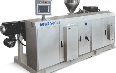 Latest generation high speed single screw extruder for PE/ PP pipes