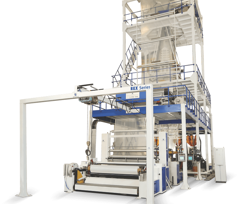 Three layer IBC co-extrusion blown film lines